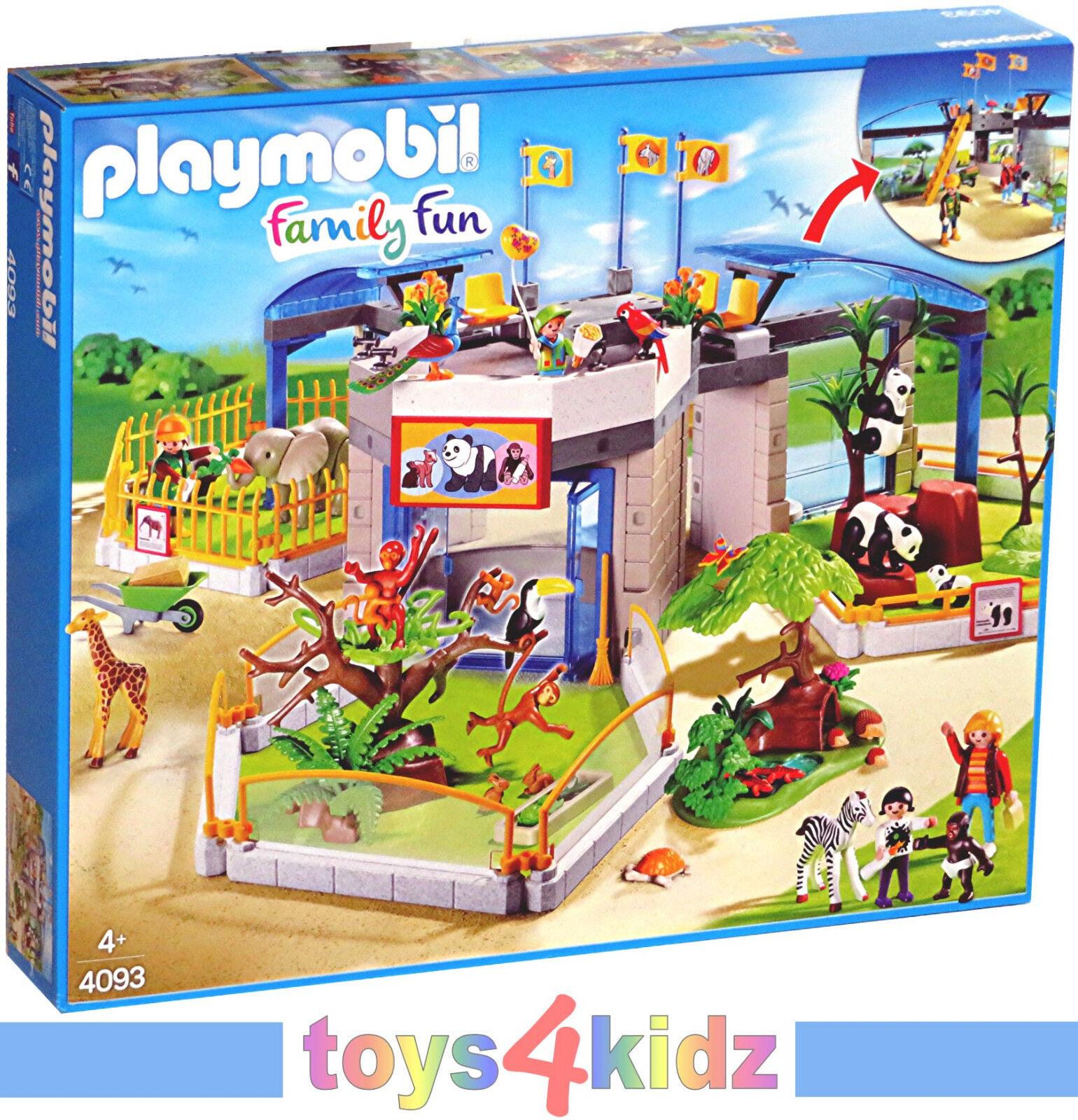 PLAYMOBIL® Tierpark Tierpark Tierpark / Zoo  4093 Tierbaby Zoo   NEU / OVP   abeb27