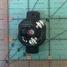 Klixon Aircraft Circuit Breaker CA-5 / 668279  Vintage 5A NOS Studebaker