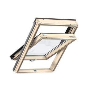 dachfenster velux schwingfenster pk08 94x140 aus holz incl edz eindeckrahmen ebay. Black Bedroom Furniture Sets. Home Design Ideas