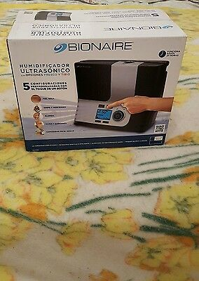 Details about Bionaire BUL9100 UM Ultrasonic Warm or Cool Mist Humidifier Allergy Relief