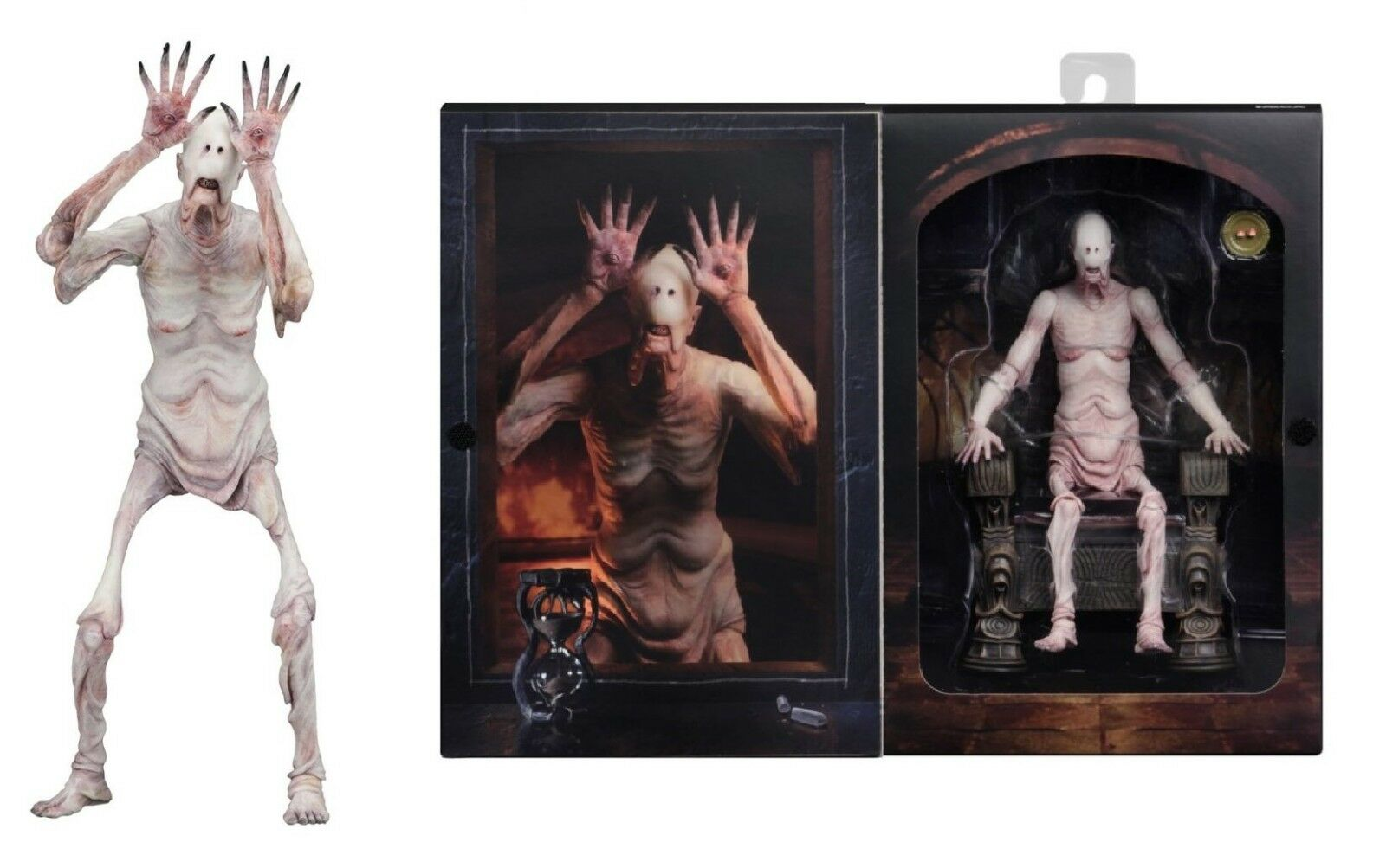 GDT Signature Collection Pans Labyrinth Pale Man Action Figure NECA PRE-ORDER