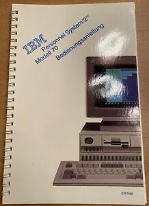 IBM Personal System 2 Modell 70 Bedienungsanleitung / Handbuch Neuwertig
