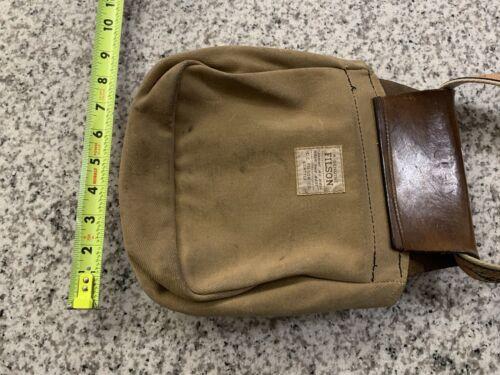 Filson Fishing Bag w/ Zeppelin Fishing Belt Vintag