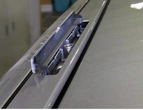 Roof Rack Cross Bars C-15 lock 130cm Volvo VW Saab Porsche