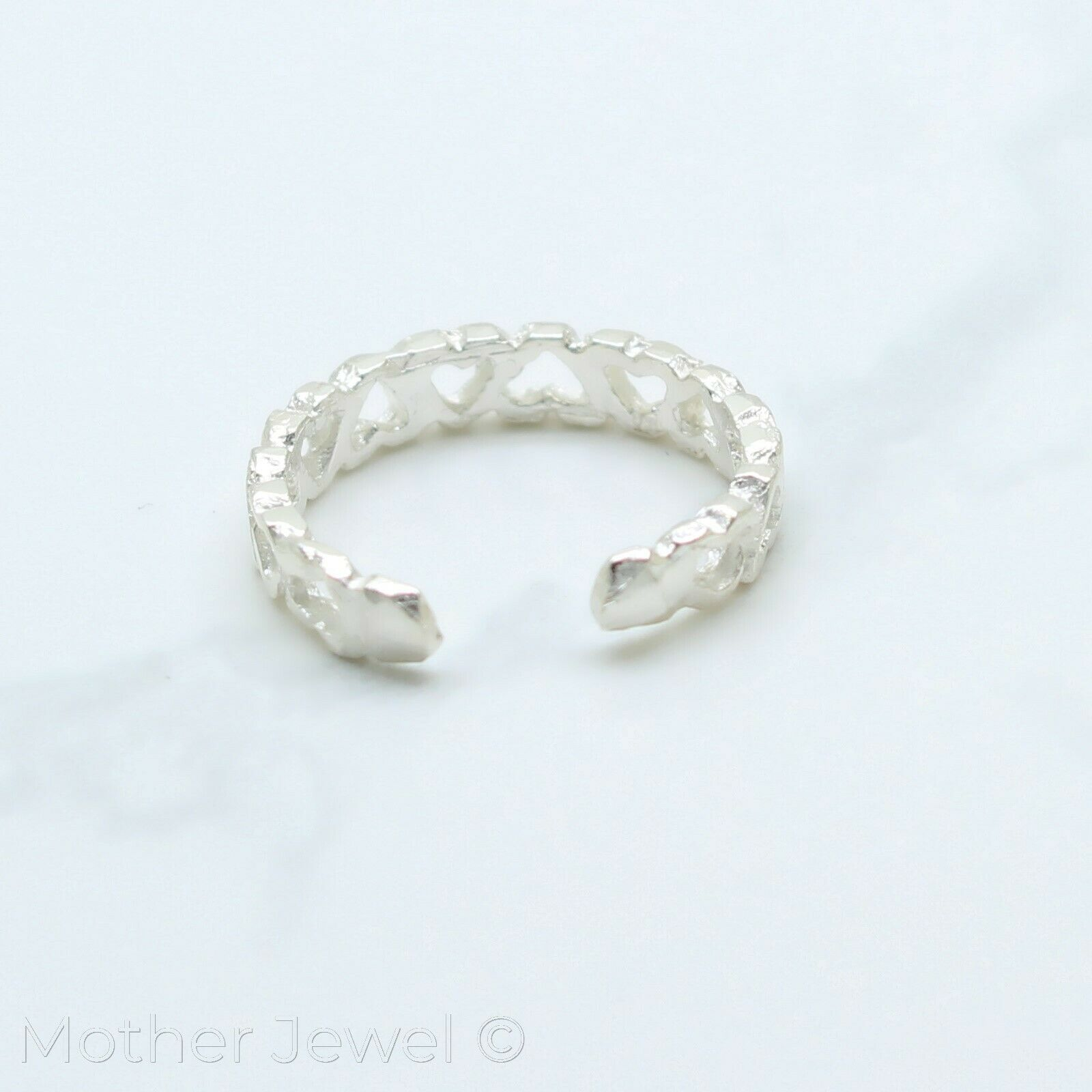 REAL 925 SOLID STERLING SILVER LADIES GIRLS GROOVE 3MM BAND MIDI OR TOE RING