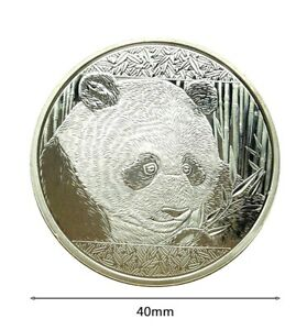 China-2018-1-Oz-999-Silver-Plated-Commemorative-10-Yuan-coin-Sealed-amp-UNC