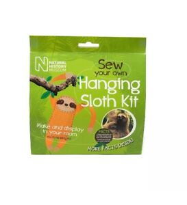 Natural-History-Museum-Sew-Your-Own-Hanging-Sloth-Kit-Toy-Kids-Birthday-Present