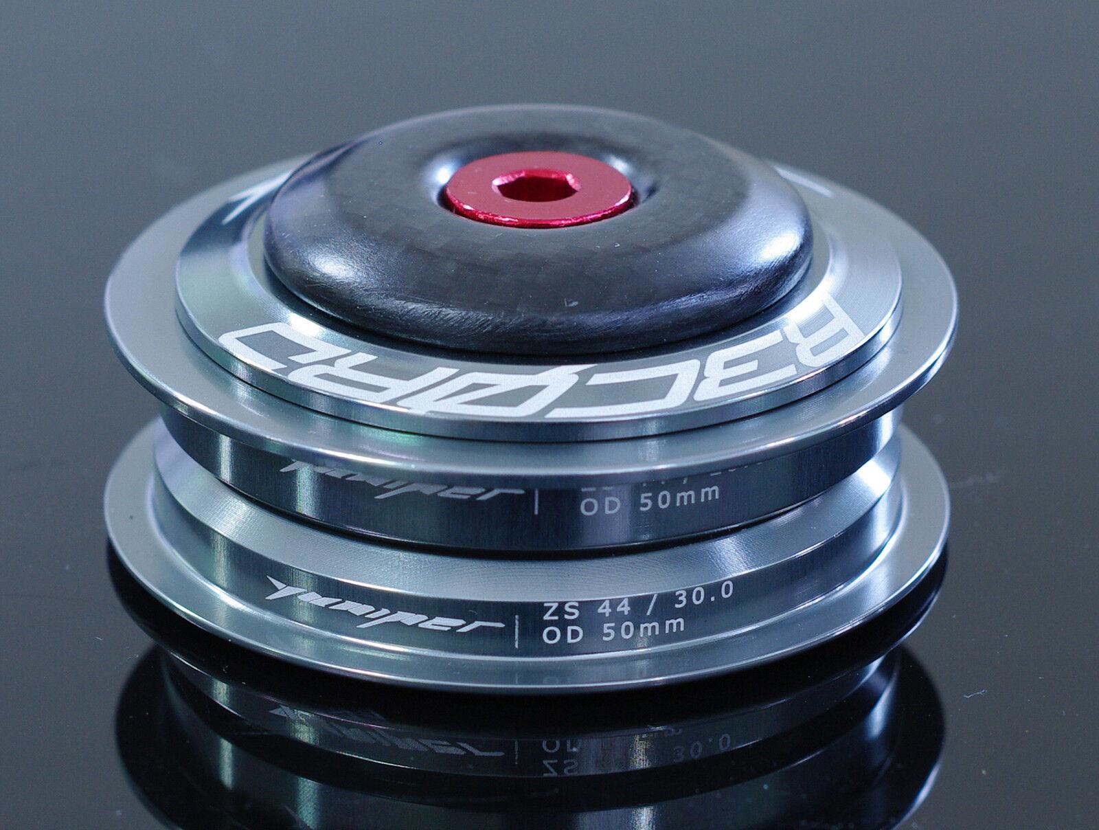 YUNIPER 49g RECORD Ultralight Steuersatz Semi-integriert ZS44 28.6 30 grau