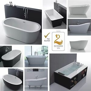 Design Badewanne freistehende Wanne Whirlpool SPA Pool Badezimmer ...