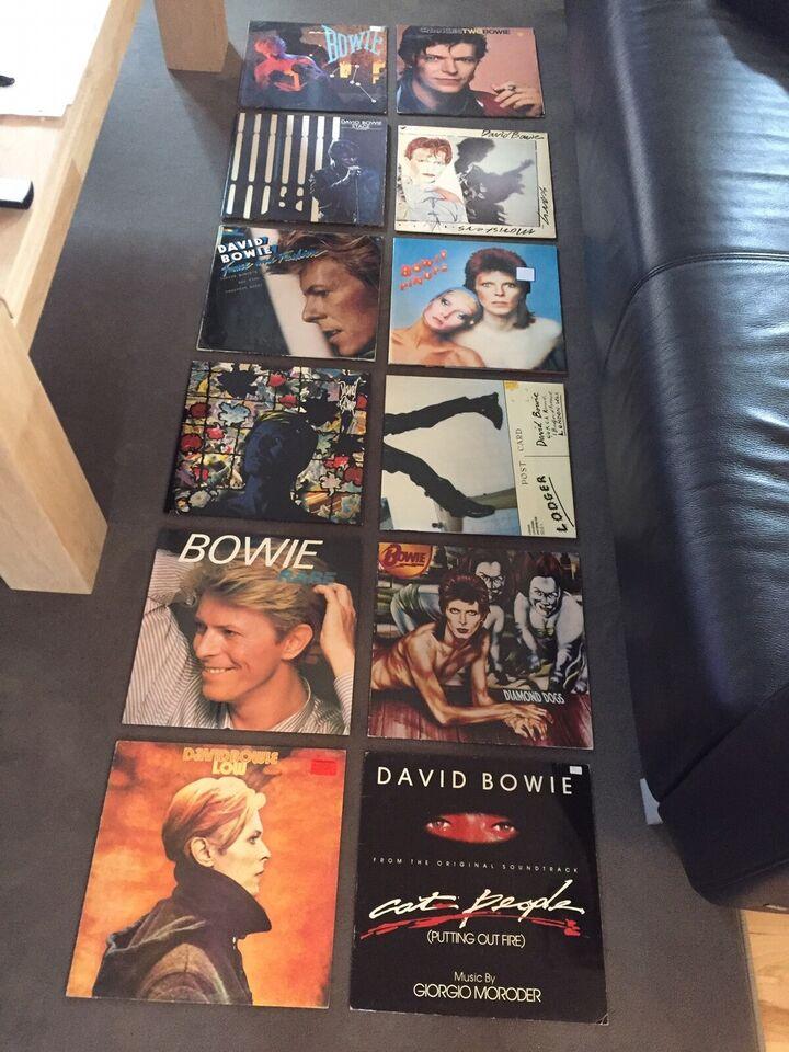 David Bowie: Forskellige, rock