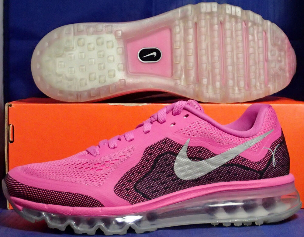 Femme Nike Air Max 2014 Breast Cancer Awareness Pink SZ 5.5 ( 621078-606 )