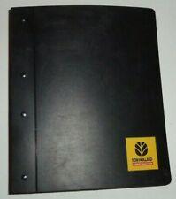 New Holland C185 C190 L180 L185 L190 Skid Steer Loader Service Repair Manual Oem