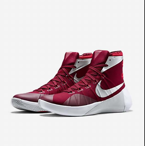 various colors 33501 77e4c ... sale image is loading nike hyperdunk 2015 tb team red white silver  0c2e2 20391