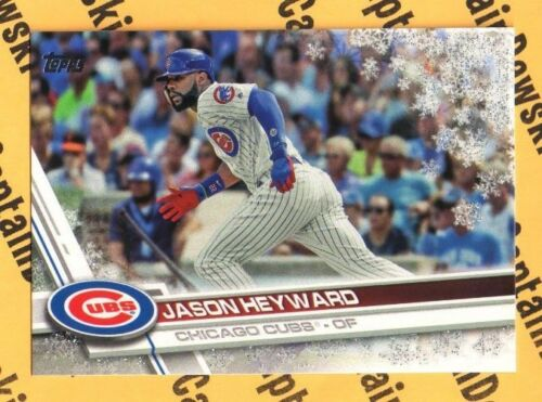 U PICK! 2017 Topps Holiday Metallic Snowflake Parallel Baseball Cards 1-200