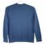 thumbnail 2 - Banana Republic Organic Slub Cotton Ribbed Blue Knit Crewneck Sweater Size Large