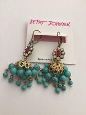 $35 Betsey Johnson Boho Chandelier Drop Earrings BH-5