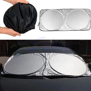 Image is loading Window-Sun-Shade-Foldable-Jumbo-Car-Windshield-Auto- fd56d21f079