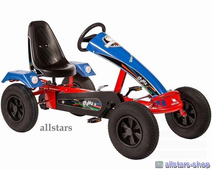 Allstars Dino Cars Stylez S114 GoCart GoKart rot-blau Tretauto Kettcar DinoCars