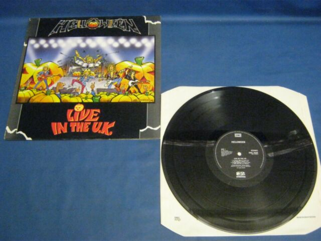 RECORD ALBUM HELLOWEEN LIVE IN THE UK A-1-1-2 B-1-1-2 4514