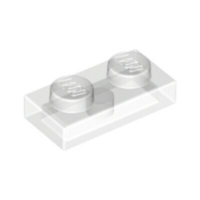 Lego 20x Chiara Trasparente 1x2 Piastra Con Borchie Tile Thin Mattone - 4167842 6225 Nuovi-mostra Il Titolo Originale Vari Stili