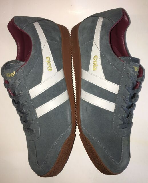 Mens Gola Harrier Suede Sports Gym Walking Jogging Fitness Trainers All Sizes