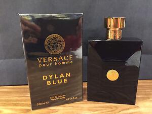 VERSACE DYLAN BLUE EDT 200 ML   6.7 OZ SPRAY MEN POUR HOMME ORINNAL ... 6f169a60b12