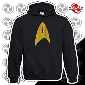Discovery Oversized Starfleet Badge Inspired by Star Trek Hoodie