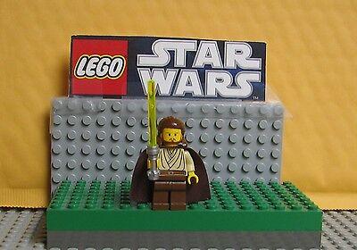 """STAR WARS  LEGO LOT MINIFIGURE--MINI FIG """"  QUI GON JINN --- 7161-7101-7121  """""""