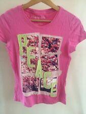 Aeropostale Pink T Shirt Size M Size 10   T1425