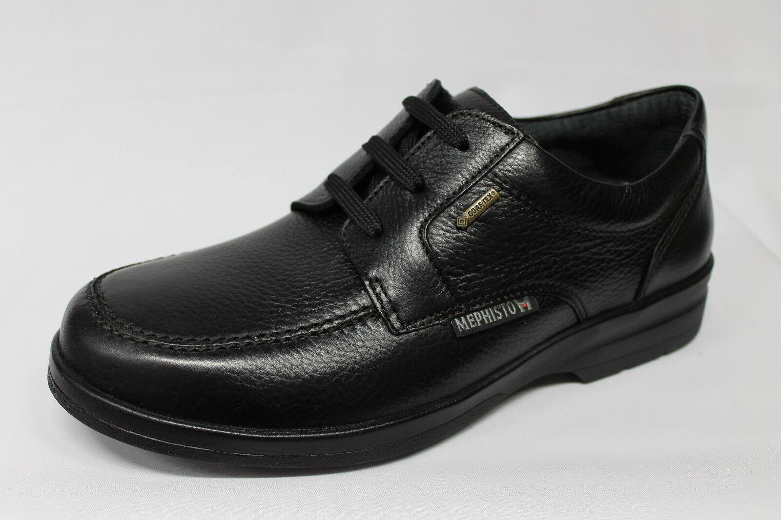 Scarpe pelle Mephisto Jarno GT Gore-Tex pelle Scarpe nera listino€185 - 20% eb180a