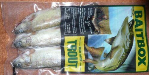 TROUT  PIKE FISHING BAIT  FROZEN 5 packs