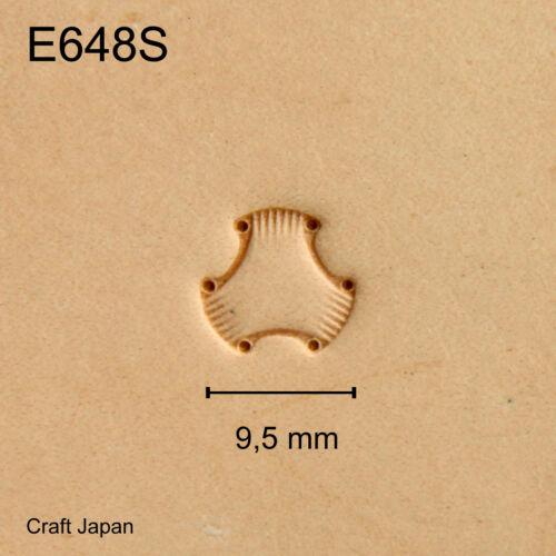 E684S Punzierstempel Punziereisen Lederstempel Craft Japan Leather Stamp