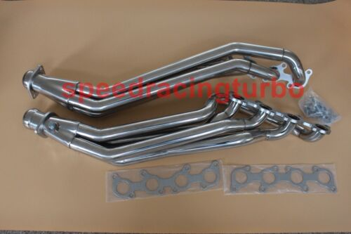 LONG TUBE HEADER EXHAUST MANIFOLD FOR 11-16 FORD MUSTANG GT 5.0//302 V8 STAINLESS