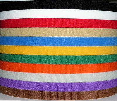 """Velcro USA One-Wrap Cable Ties ~ """"Tape"""" Style ~ Straps Strips Hook Loop Roll"""
