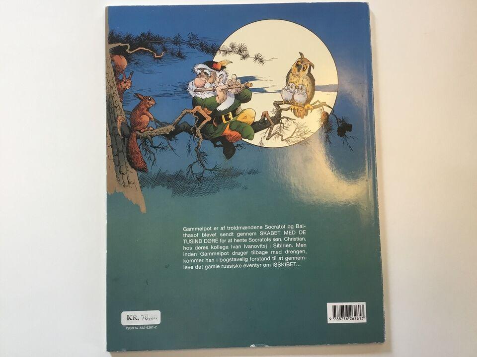 Gammelpot nr. 19, Tegneserie