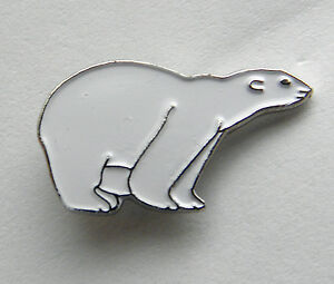 ARCTIC-WHITE-POLAR-BEAR-WILDLIFE-ANIMAL-LAPEL-PIN-BADGE-3-4-INCH