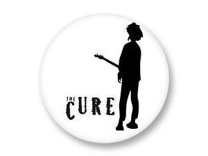 Magnet Aimant Frigo Ø38mm Logo The Cure Robert Smith Rock UK