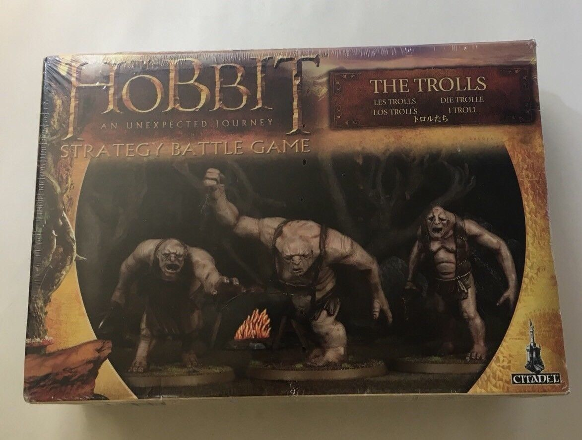 Games Workshop The Hobbit An Unexpected Journey  The Trolls New Sealed