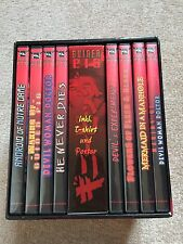 Guinea Pig Japanese Dvd Boxset Devils Pictures Rare Horror Gore