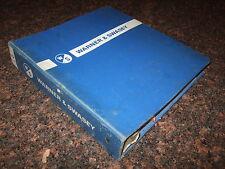 Warner Amp Swasey G 880 Gradall Service Repair Shop Manual