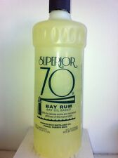 SUPERIOR 70 BAY RUM ALCOHOL IN THE 25.4 FL OZ SIZE (750 ML) (ALCOHADO)