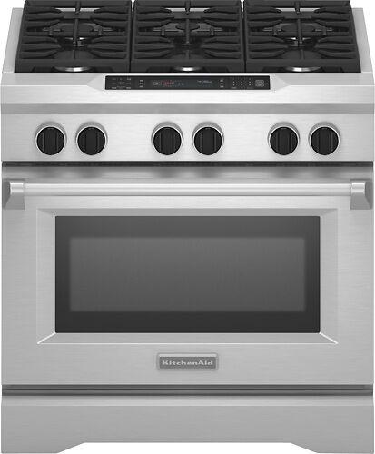 Kitchenaid Kdrs467v 36 Dual Fuel Range