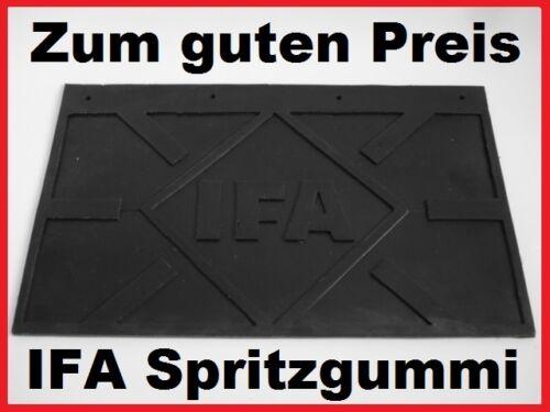 W50 IFA LKW Traktor Spritzgummi Schmutzfänger Spritzlappen = 460 x 290 //// NEU