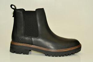 Timberland-London-Square-Chelsea-Boots-Stiefeletten-Damen-Stiefel-Schwarz-A1RBJ