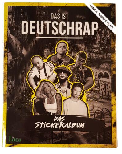 PANINI c/'est Deutschrap Sticker Album de scrapbooking LEERALBUM album