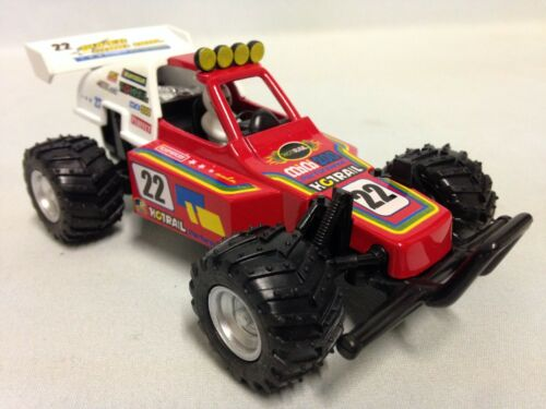 Turbo Buggy, Sandrail, 5.25 Diecast Model, Pull Back Action, Toy Car, Red