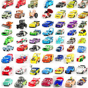 Disney-Pixar-Cars-McQueen-Hudson-Mater-Fillmore-Sally-Sarge-1-55-Autos-Sally-Toy
