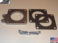 86-93 Mustang GT & LX 5.0 Throttle Body EGR Spacer Delete Plate Kit 1/2in X 70mm