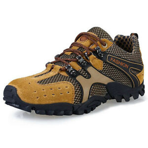 Men Outdoor Training Climbing Trekking sport Shoes Athletic Breathable Anti skid