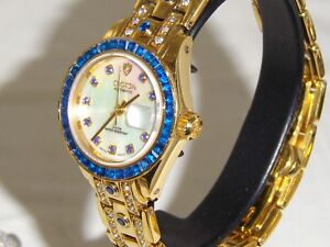 LADIES-ONLY-Croton-Swiss-Auto-034-GORGEOUS-VERY-HARD-TO-FIND-RARE